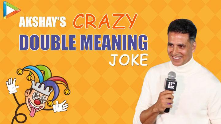 ROFL - Akshay Kumar's Double Meaning Dialogue at Good Newwz Trailer Launch Kiara Kareena