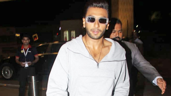 Ranveer Singh spotted at airport, Mumbai