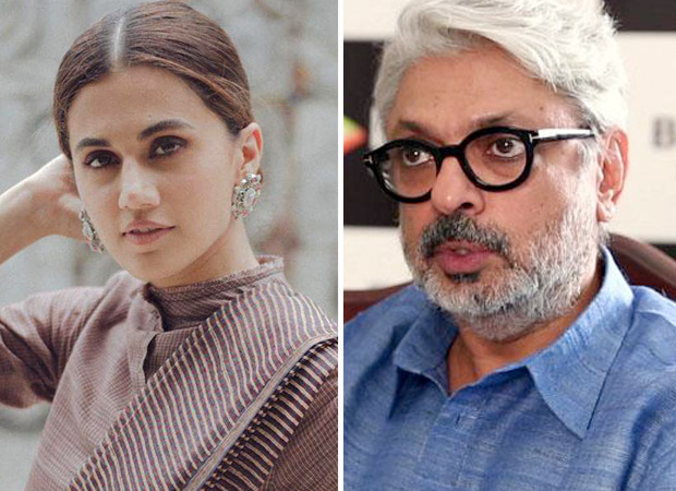 SCOOP Taapsee Pannu signed by Sanjay Leela Bhansali for a double role