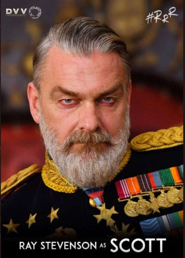 SS Rajamouli's RRR announces Ray Stevenson, Olivia Morris and Alison Doody joining the stellar cast; character posters unveiled!