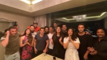 Salman Khan and his Da-Bangg tour team wish Shah Rukh Khan on his 54th birthday