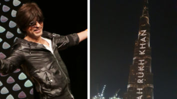 Shah Rukh Khan is grateful to see his name on Burj Khalifa on his 54th birthday