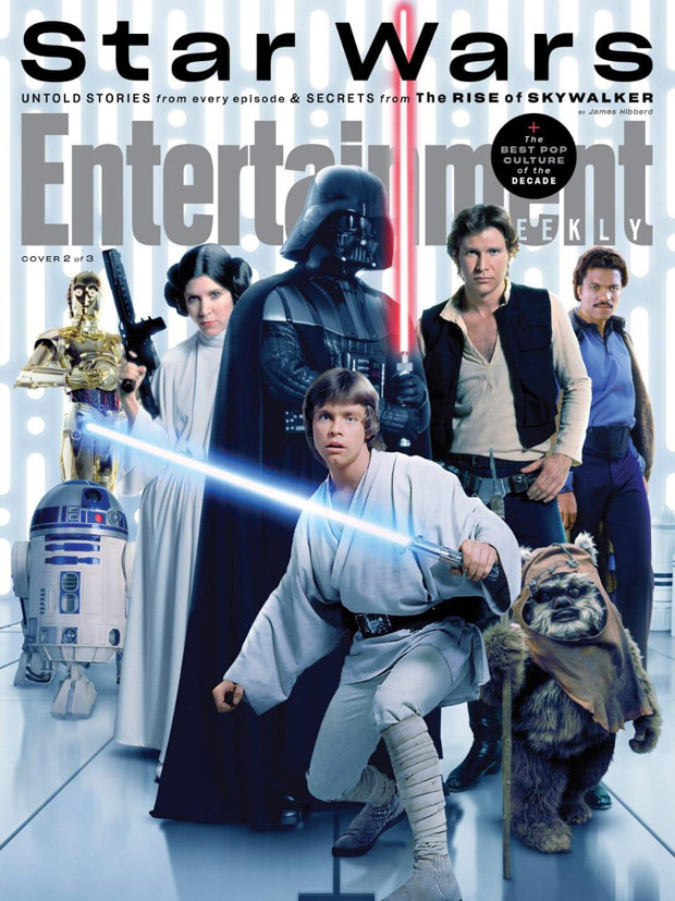 Star Wars: The Rise of Skywalker cast feature on special Entertainment Weekly covers