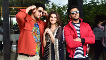 Tara Sutaria, Sidharth Malhotra & Ritiesh Deshmukh spotted promoting their film Marjavaan