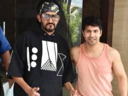 Varun Dhawan spotted at Shashank Khaitan's office