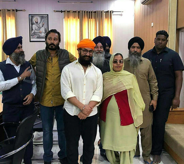 Laal Singh Chaddha: Amir Khan seeks blessings at Punjab's Gurudwara Bhatta Sahib in between shoots