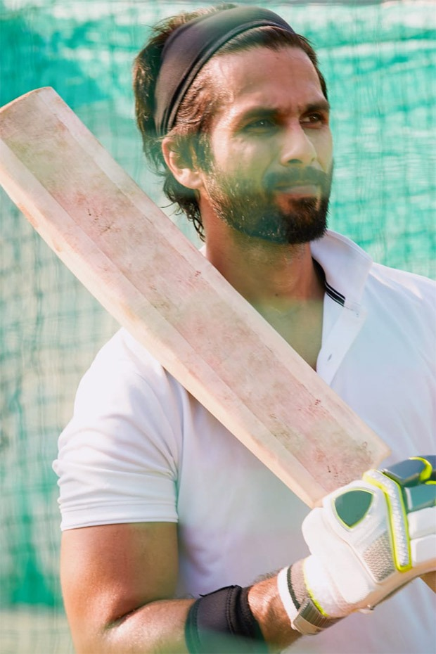 Watch: Shahid Kapoor strikes an over boundary as he preps for Jersey