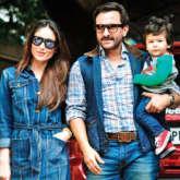 Taimur Ali Khan enjoys a glass of lemonade as he chills with parents Saif Ali Khan and Kareena Kapoor Khan