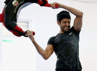 On its way! Farhan Akhtar shares a sweet picture as much-awaited 'Toofan' is 'half-way 50%'!