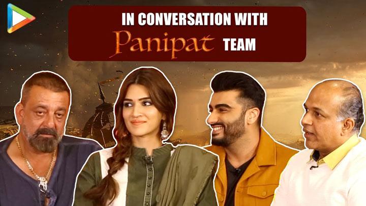 """I'm Ranveer's Nephew technically as Sadashiv Rao was…"" Arjun Sanjay Kriti Ashutosh Panipat"