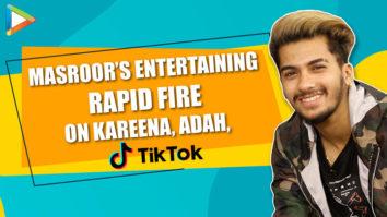"""VULGARITY bohot ho gayi hai TIK TOK pe…"" Masroor's MAZEDAAR Rapid Fire Kareena Kapoor Adah"