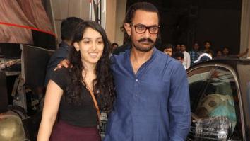 Aamir Khan flies to Bangalore amidst shooting for Laal Singh Chaddha for Ira Khan's play