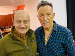 After Sting, Anupam Kher meets Bruce Springsteen