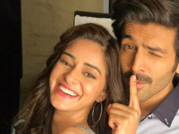 Ananya Panday asks who the real Chintu Tyagi is; Kartik Aaryan answers the 'Aakhri Pasta' way!