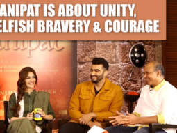 "Ashutosh on Panipat ""I'm not trying to make a film which is gonna HURT…"" Arjun Kriti Sanjay"