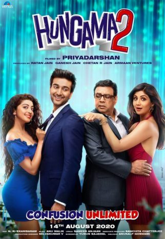 CONFIRMED! Meezaan Jaffrey, Pranitha Subhash, Paresh Rawal, Shilpa Shetty to star in Priyadarshan's Hungama 2, film to release on August 14, 2020