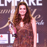 Dia Mirza titled as 'Woman of Style and Substance' at the Filmfare Glamour and Style Awards