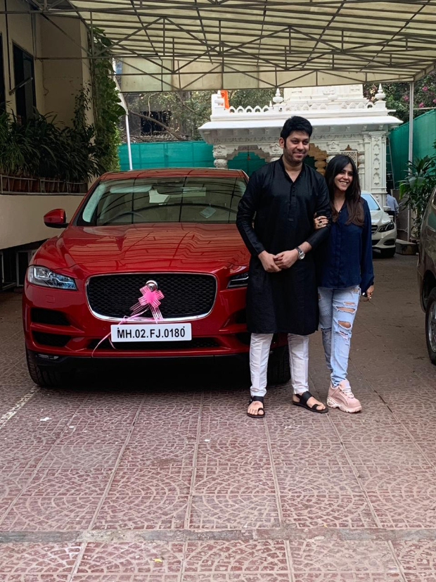 Ekta Kapoor gifts a luxury car to Dream Girl director Raaj Shaandilyaa