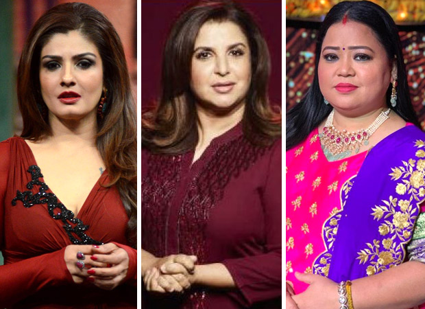 Raveena Tandon, Farah Khan and Bharti Singh booked for hurting religious sentiments of a community during a TV show