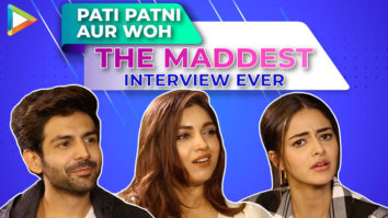HOLD YOUR LAUGHTER - Kartik, Ananya & Bhumi's CRAZY Interview Quiz, Rapid Fire & 5 Second Challenge