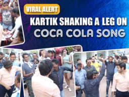 Kartik Aaryan's INSANE Dance Moves on Coca Cola song on the sets of Pati Patni Aur Woh Ananya