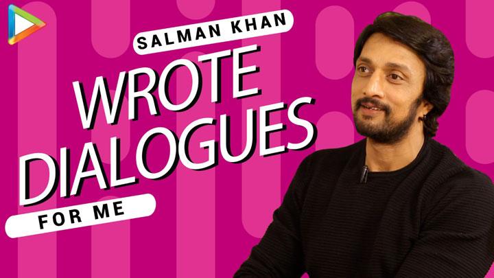 "Kichcha Sudeep ""Salman Khan & I FOUGHT for 23 days - BIGGEST Climax Ever"" Dabangg 3"