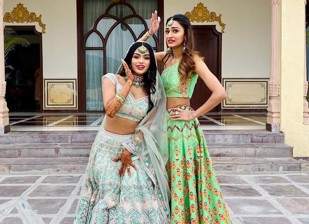 PICTURES Erica Fernandez becomes the perfect bridesmaid for Sonyaa Ayodhya's wedding!