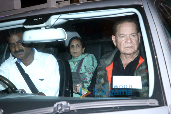 Photos Aayush Sharma, Helen and others spotted at Hinduja Hospital1 (1)