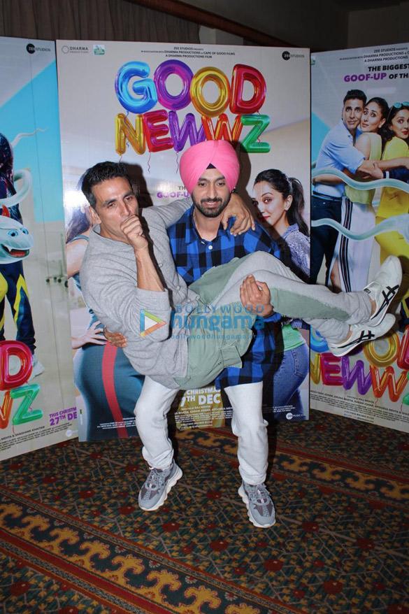 Photos Akshay Kumar, Kareena Kapoor Khan, Kiara Advani and Diljit Dosanjh snapped promoting their film Good Newwz (6)