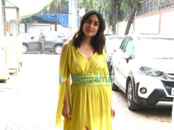 Photos: Akshay Kumar, Kareena Kapoor Khan and Diljit Dosanjh snapped during Good Newwz promotions