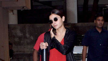 Photos: Alia Bhatt spotted at Sanjay Leela Bhansali's office in Juhu