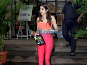 Photos: Janhvi Kapoor snapped at Antigravity gym