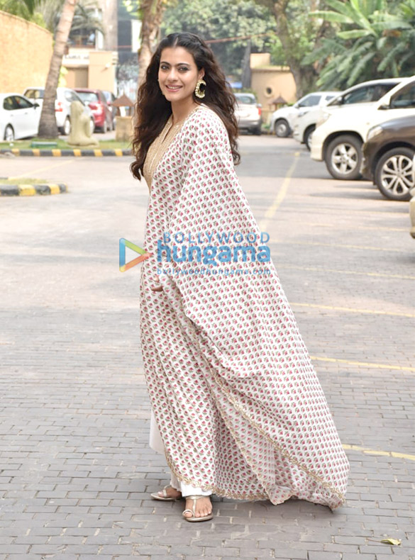 Photos: Kajol snapped during Tanhaji – The Unsung Warrior promotions