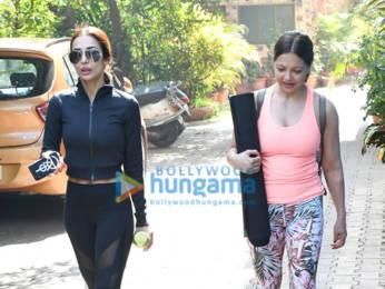 Photos: Malaika Arora spotted at the gym