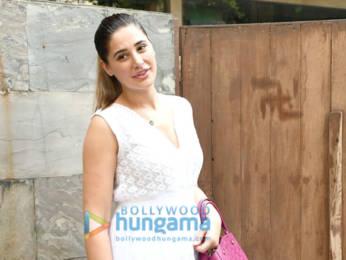 Photos: Nargis Fakhri spotted at Indigo in Bandra