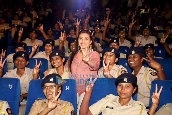 Photos Rani Mukerji hosts a special screening of Mardaani 2 for Mumbai Police officers (1)