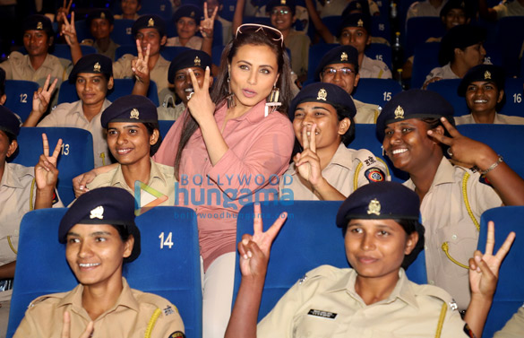 Photos Rani Mukerji hosts a special screening of Mardaani 2 for Mumbai Police officers (2)
