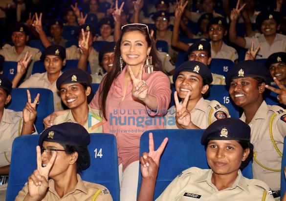 Photos Rani Mukerji hosts a special screening of Mardaani 2 for Mumbai Police officers (4)