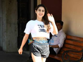 Photos: Sara Ali Khan spotted at the Pilates gym