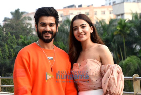 Photos Sunny Kaushal and Rukshar Dhillon snapped promoting their movie Bhangra Paa Le (4)