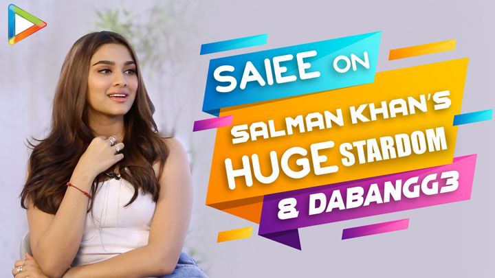 Saiee EXCLUSIVE on getting Dabangg 3 with Salman Khan I started JUMPING, I was DANCING in...