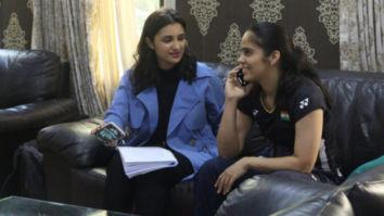 Saina Nehwal is all praises for Parineeti Chopra