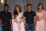 Salman Khan & Dabangg 3 cast at Bigg Boss Set Saiee Manjrekar Sonakshi Sinha Prabhu Deva