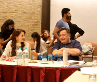 On The Sets Of The Movie Sharmaji Namkeen