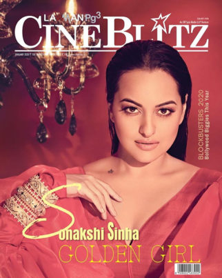 Sonakshi Sinha On The Cover Of Cine Blitz
