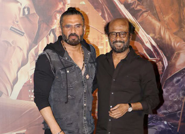 Suniel Shetty says that Rajinikanth would come in an ordinary taxi and not any luxury car
