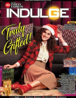 Taapsee Pannu On The Cover Of Indulge