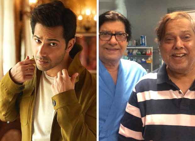 Varun Dhawan posts an adorable picture of David Dhawan and Anil Dhawan from the sets of Coolie No. 1