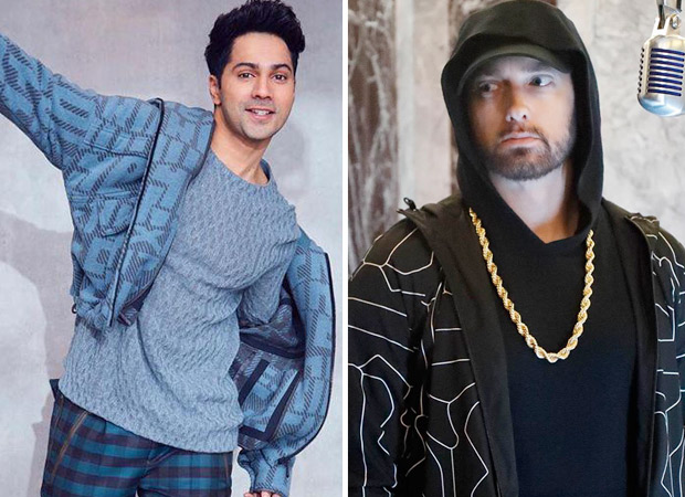 Varun Dhawan says he was inspired by Eminem
