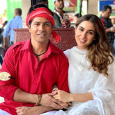 Varun Dhawan turns van prancer for Sara Ali Khan as they wrap another schedule for Coolie No. 1